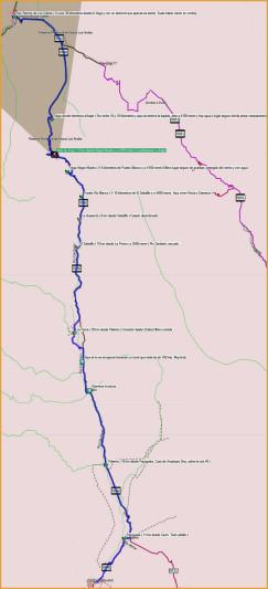 Mapa Abra del Acay