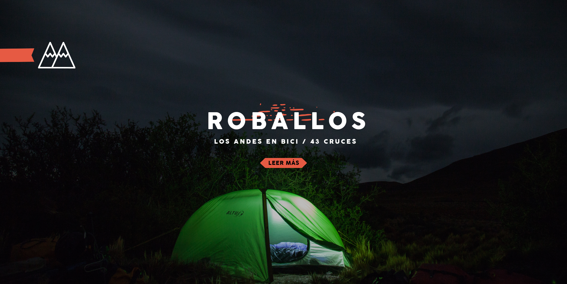 Paso Roballos- Cruce de los Andes en bici